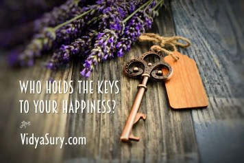Who holds the keys to your happiness