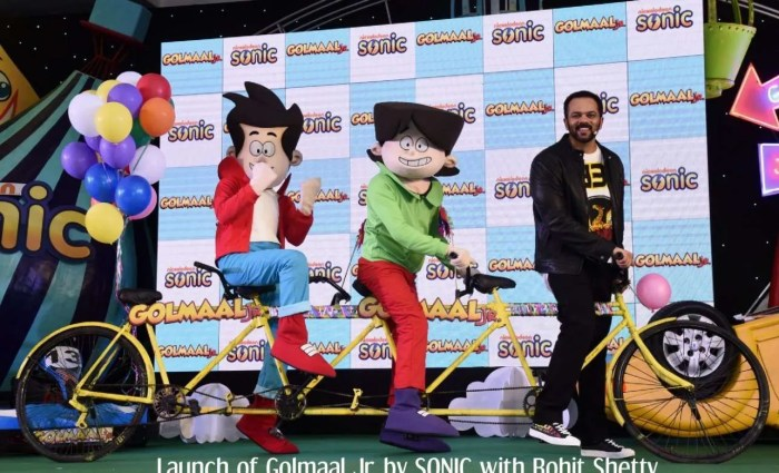 Golmaal Jr Launch With Rohit Shetty