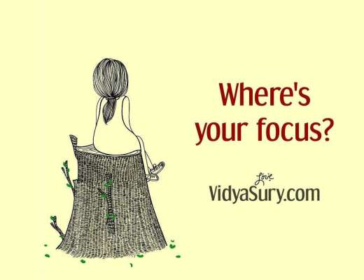 Where is your focus
