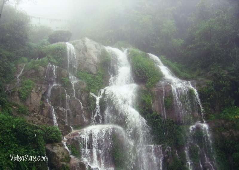 Bakthang falls Gangtok Ten destinations I would love to visit again