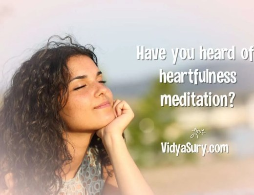 Have you heard of heartfulness meditation