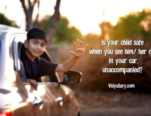 Family safety: Is your child safe when you see him/ her off in your car, unaccompanied?