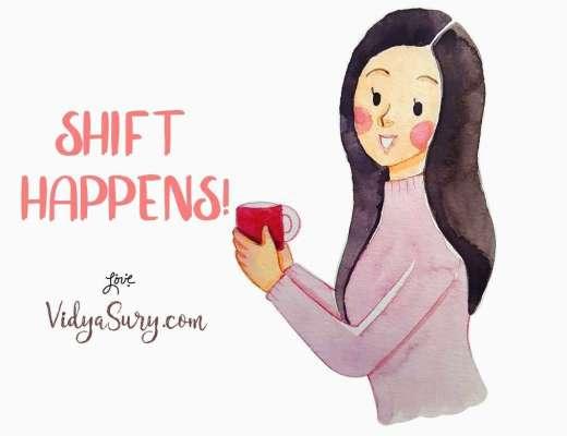 Shift Happens. August 2019 Gratitude Circle blog hop