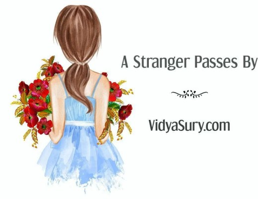 A stranger passes by - Wednesday Wisdom series