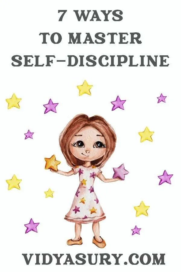 7 ways to master self-discipline