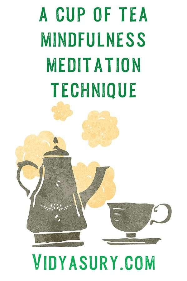 a cup of ta zen mindfulness meditation