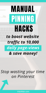 Manual pinning hacks that will boost your website traffic better than any scheduler. Yes, I said it. Now read these strategies right NOW before you forget to do so.