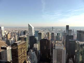 Vue du Top of the Rock