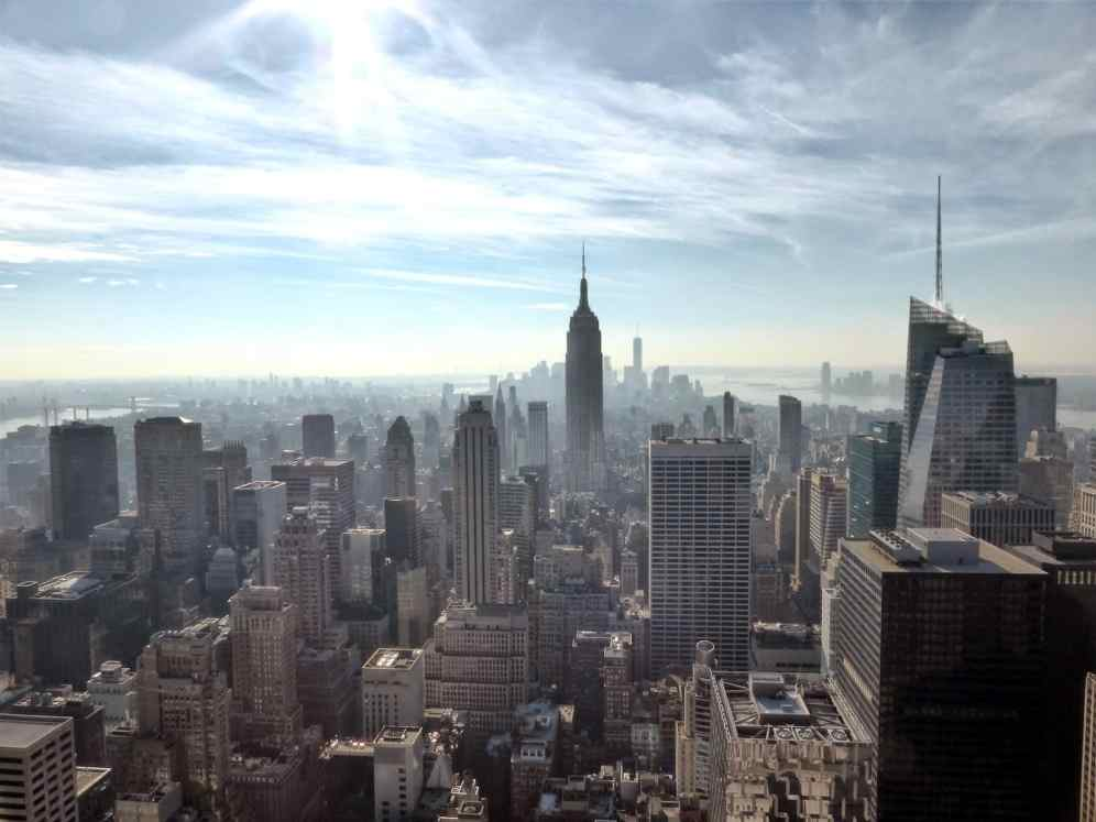 Um natal em nova york vie2voyages volta ao mundo vue du top of the rock ccuart Choice Image