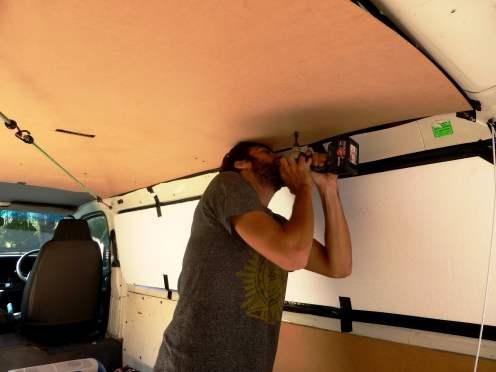 fixation du plafond