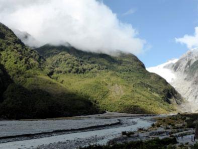 Fox Glacier-île du Sud