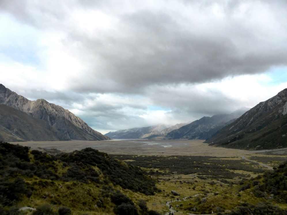 l'île du Sud-Tasman Valley (1)