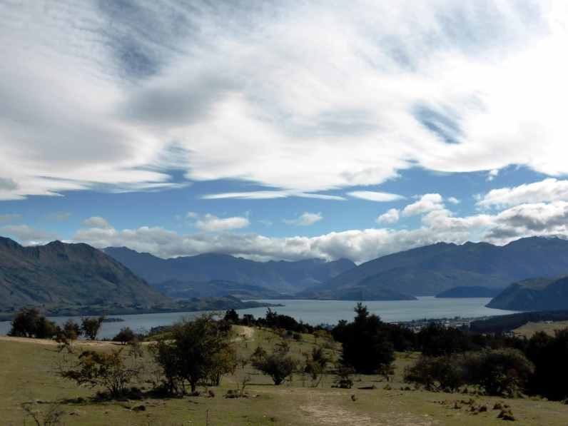 Lac Wanaka-l'île du Sud