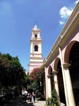 Catedral Basilica, Salta-Argentine en stop