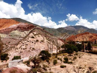 la colline aux 7 couleurs-Argentine en stop