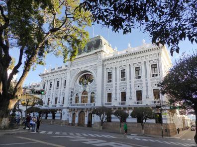 Edificio de la Gobernation, Sucre-Bolivie