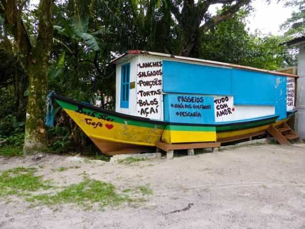 Bateau resto Ilha do mel-Brésil