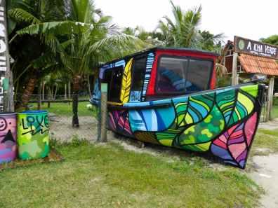 bateau llha do mel-Brésil