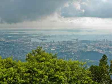 Vue du Corcovado-Rio de Janeiro-Brésil