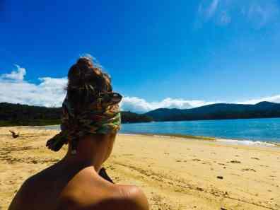 Praia Jabaquara Paraty-Brésil