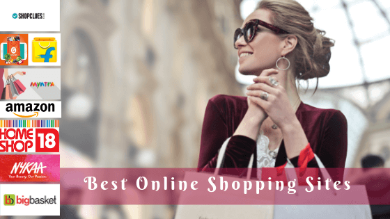 Best online shopping sites in india, List of online shopping sites in india, Shopping online sites for men and women
