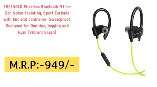1bd2219c194 Top 10 World class Wireless Bluetooth Earphones in India under 1000 ...