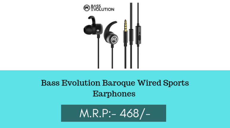 Wireless earphones for the gym