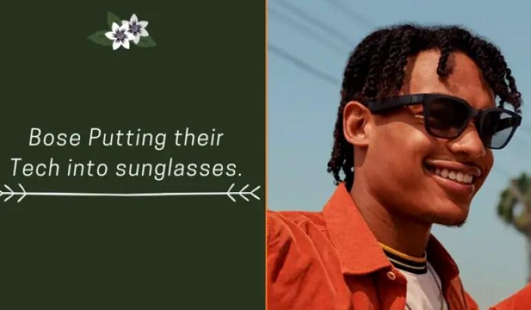 bose headphone sunglasses