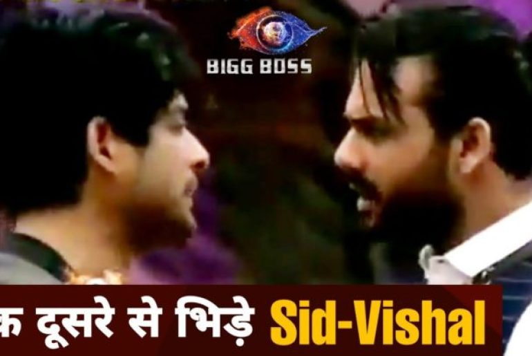 Fight between Shukla and vishal