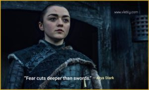 Arya Stark: Best Game of Thrones Quotes & When You Use Them in Real Life
