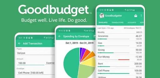 Logo Goodbudget: Best Budgeting app