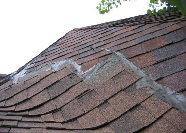Poor roof instalation: Roofing issues