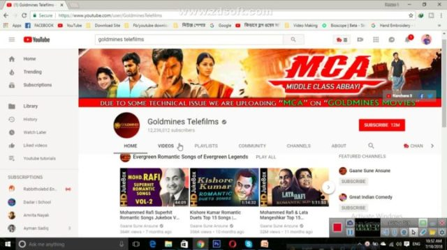 Goldmines Telefilms: 50 Most Subscribed YouTube Channels Globally | Breaking Records