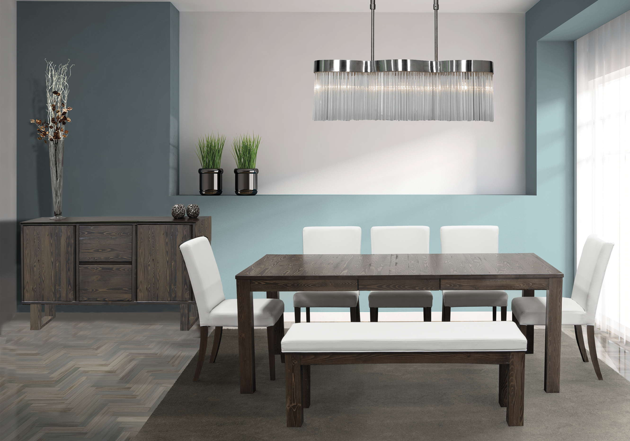 kitchen banquette furniture italian cabinets viebois - catalog dining rooms