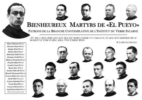 MARTYRS_EL PUEYO_INSTITUT_DU_VERBE_INCARNE