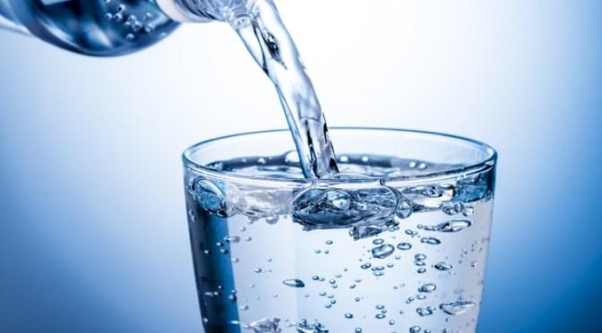 Notre verre d'eau…