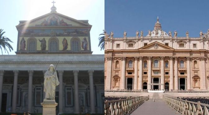 Dédicace des basiliques de S. Pierre et de S. Paul, apôtres