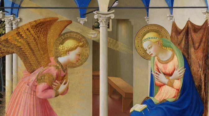 Question 30: l'Annontiation de la Bienheureuse Vierge Marie.