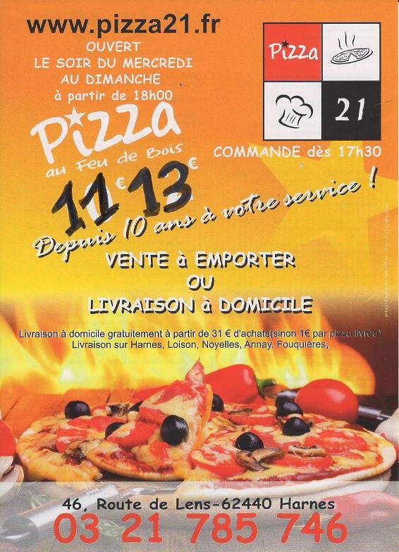 Pizza du 21