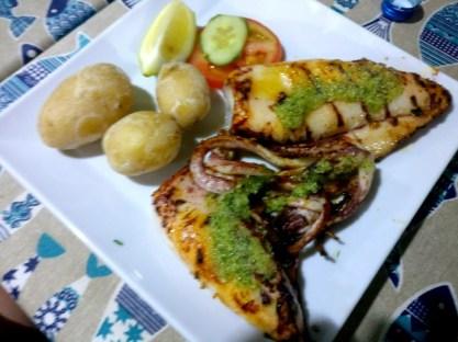 Best. Squid. Ever. At Cofradia Pescadores de Arguineguin
