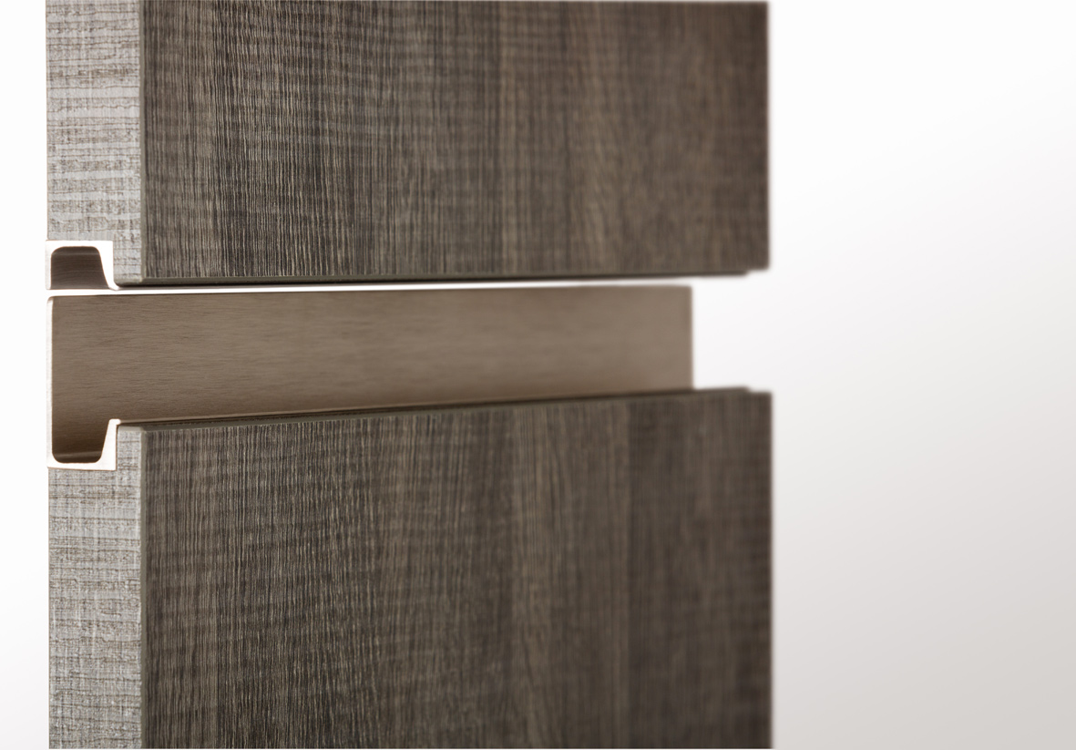 knobs and pulls for kitchen cabinets commercial lighting tiradores integrados, (casi) invisibles / integrated ...
