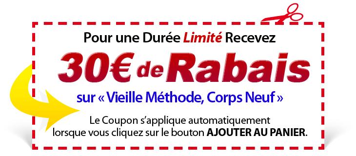 30€ de RABAIS