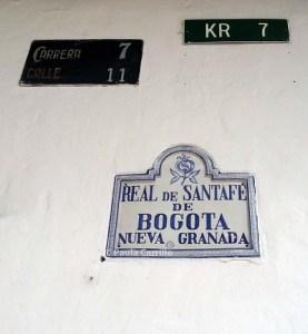 Títulos del centro histórico de Bogotá