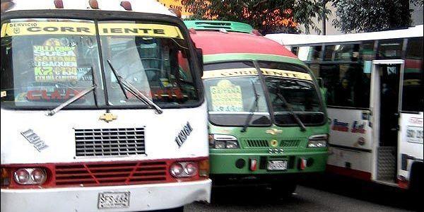 Buses en Bogotá