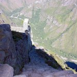 Bajar del Huayna Picchu