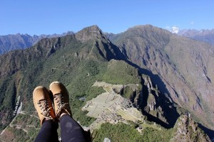 Vista del Machu Picchu desde el Huayna Picchu