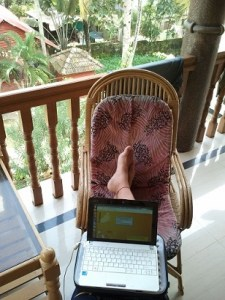 Puedo trabajar desde donde quiera (con conexión a Internet)