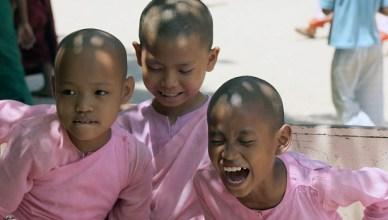 Sonrisas en Myanmar