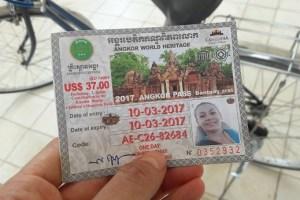 Entrada a Angkor Wat