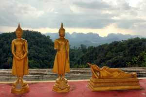 Templo del Tigre, Krabi, Tailandia